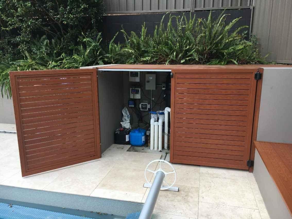 Pool Filter Pump Enclosures Pool Blanket Boxes Autralia