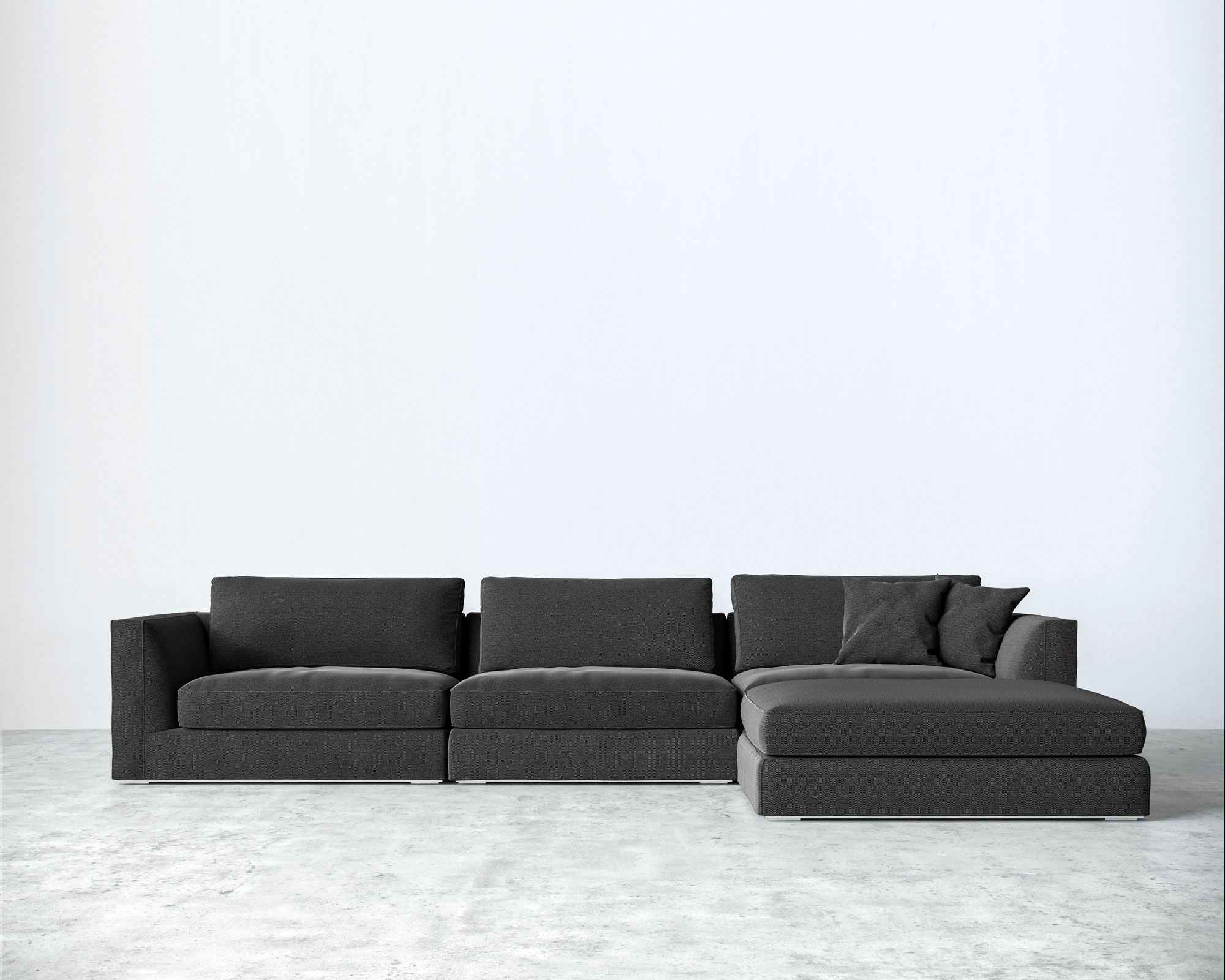 collections overstuffed modular products scandis charcoal modern med adrian sectionals sectional