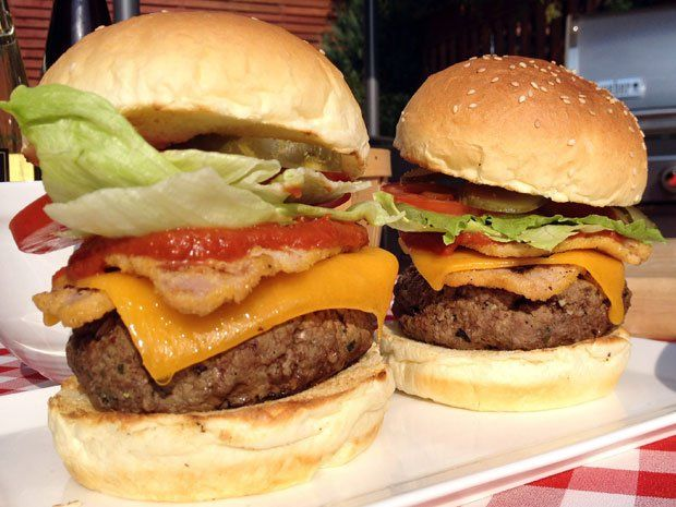 Patriotic Plates: Chef Lynn Crawford's recipe for the great Canadian burger | Appetizer | Life | National Post