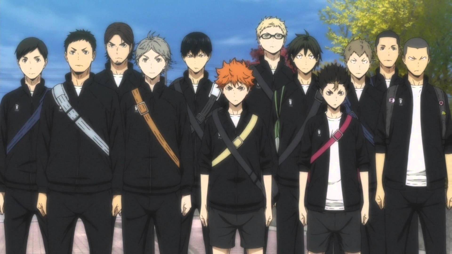 Ready For Battle We Will Win Haikyuu Haikyuu Karasuno Haikyuu Anime