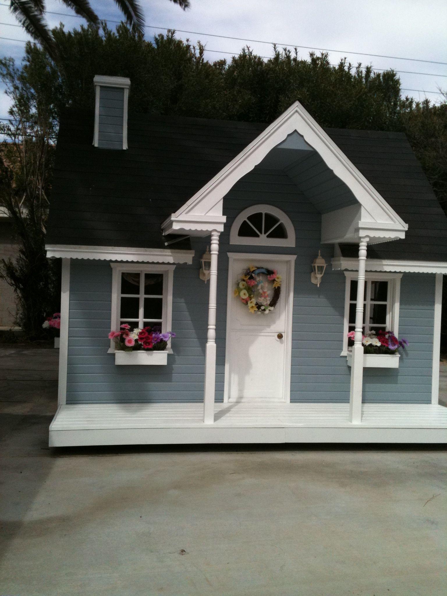 Tiny backyard house (With images) | Tiny backyard house ...