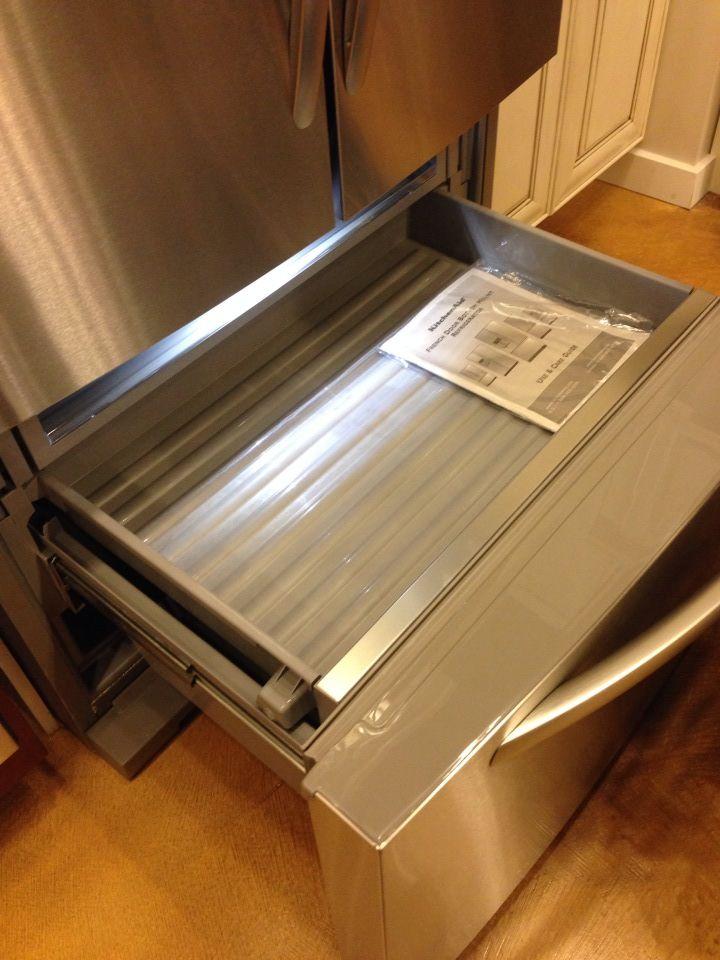 KitchenAid lower freezer drawer
