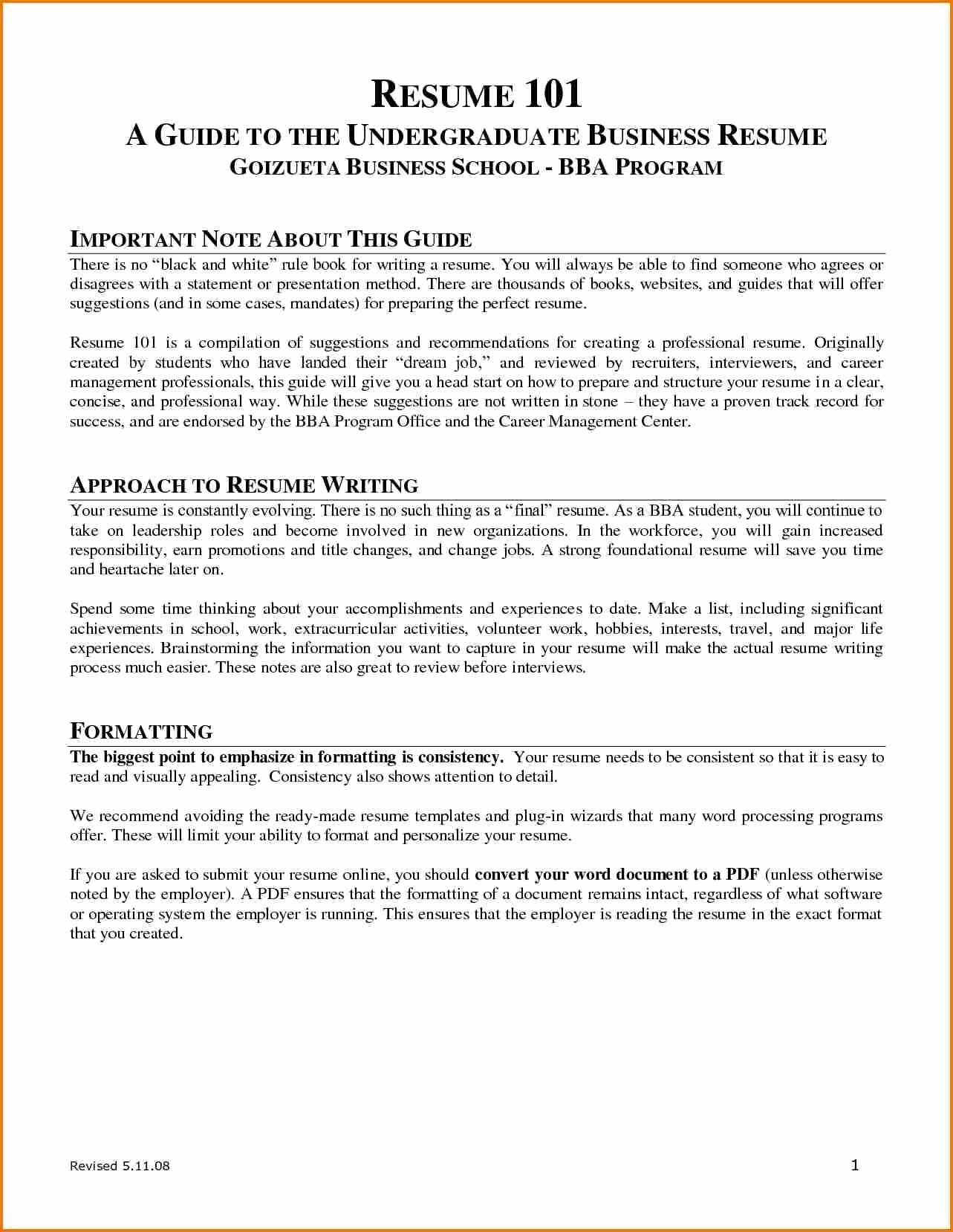 Criminal Justice Resume With No Experience Fresh 9 10 For Major Job Example Essay Training Fair First Working