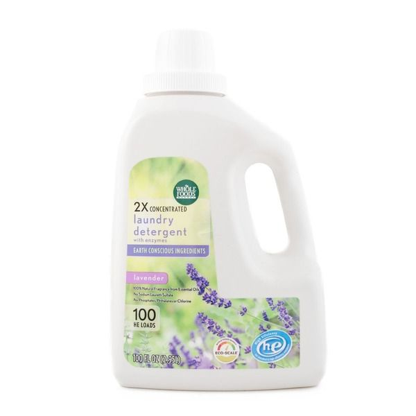 Whole Foods 365 Everyday Value 2x Concentrated Laundry Detergent