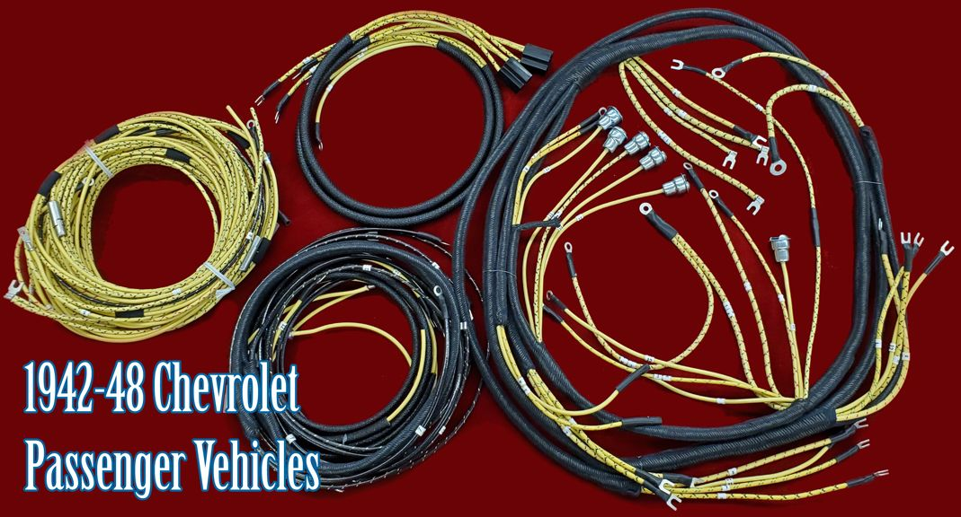 1942 48 Chevrolet Wiring Harness In 2020 Chevrolet Passenger Vehicle Harness