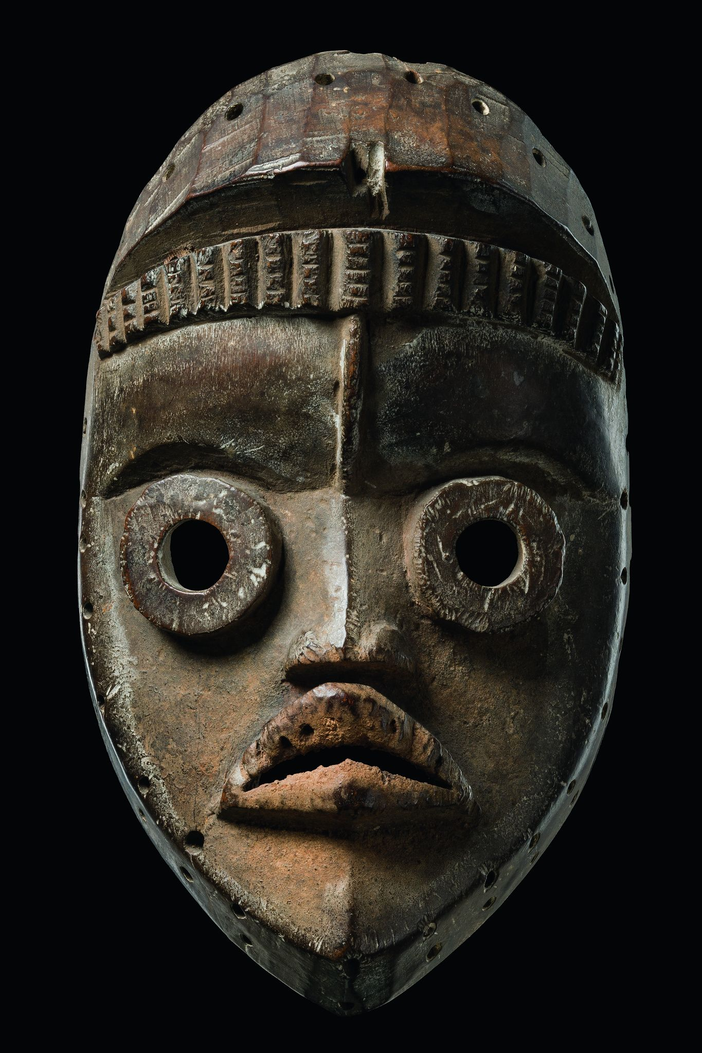 Dan Bagle Mask, Ivory Coast http://afriart.tumblr.com/post/91662340294/ivory-coast-dan-bagle-dancing-mask