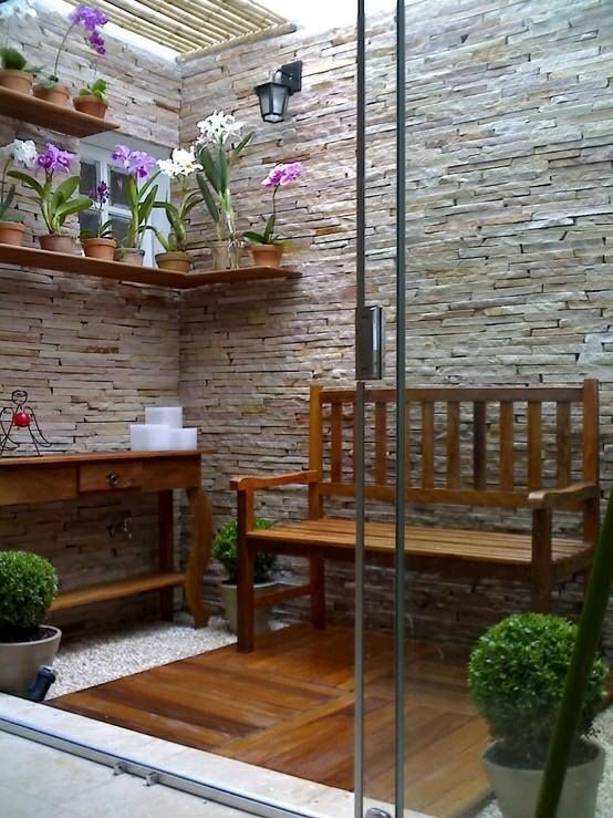 Ideas de jardines y patios interiores (8 Ideas de jardines, Patio