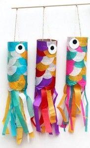 Diy Toilet Paper Fish Diy Pinterest Paper Fish