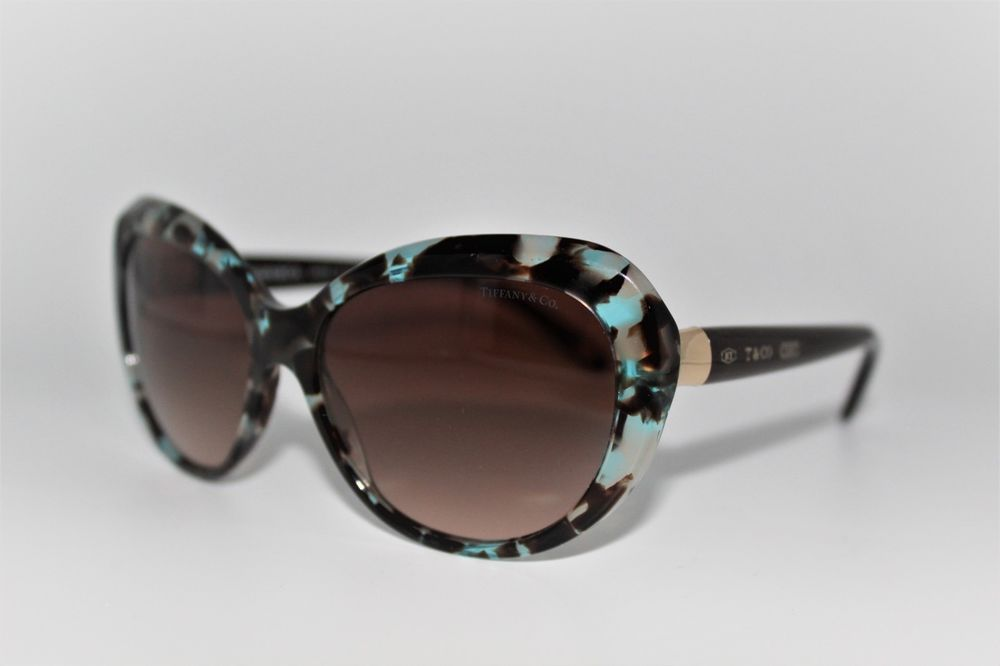 cef1335ab17a TIFFANY   CO TF 4122 8215 3B BLUE HAVANA AUTHENTIC FRAMES SUNGLASSES 56MM  TF4122  fashion  clothing  shoes  accessories  womensaccessories ...