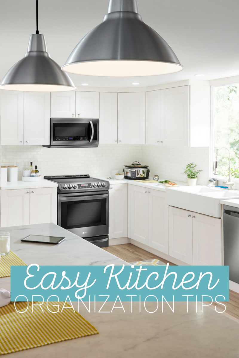 Essential Tips to Organize Your Kitchen Quickly and Efficiently ...