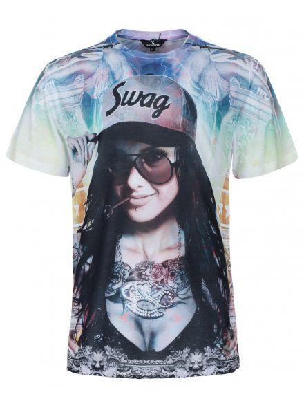 Twisted Soul Optic White Hood Swag Girl T,Shirt, £15