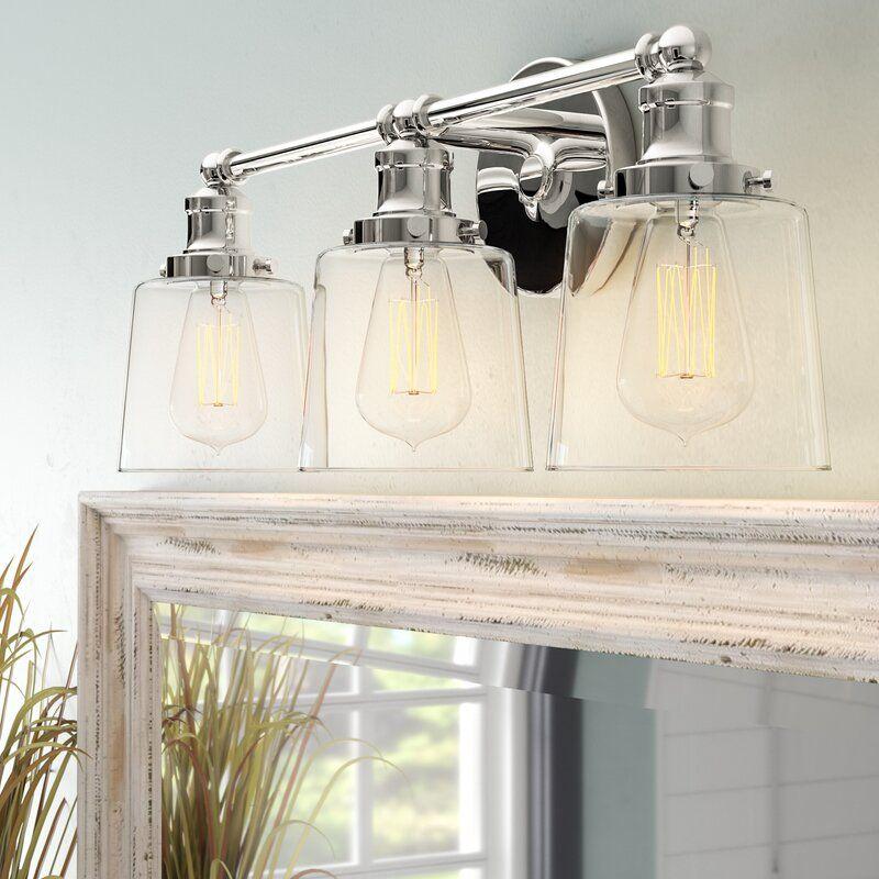 Sabbagh 3 Light Vanity Light Vanity Lighting Bathroom Vanity Lighting Bathroom Light Fixtures