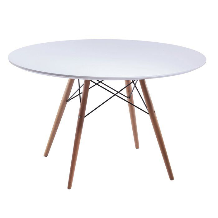 Nice Bevis Round Dining Table