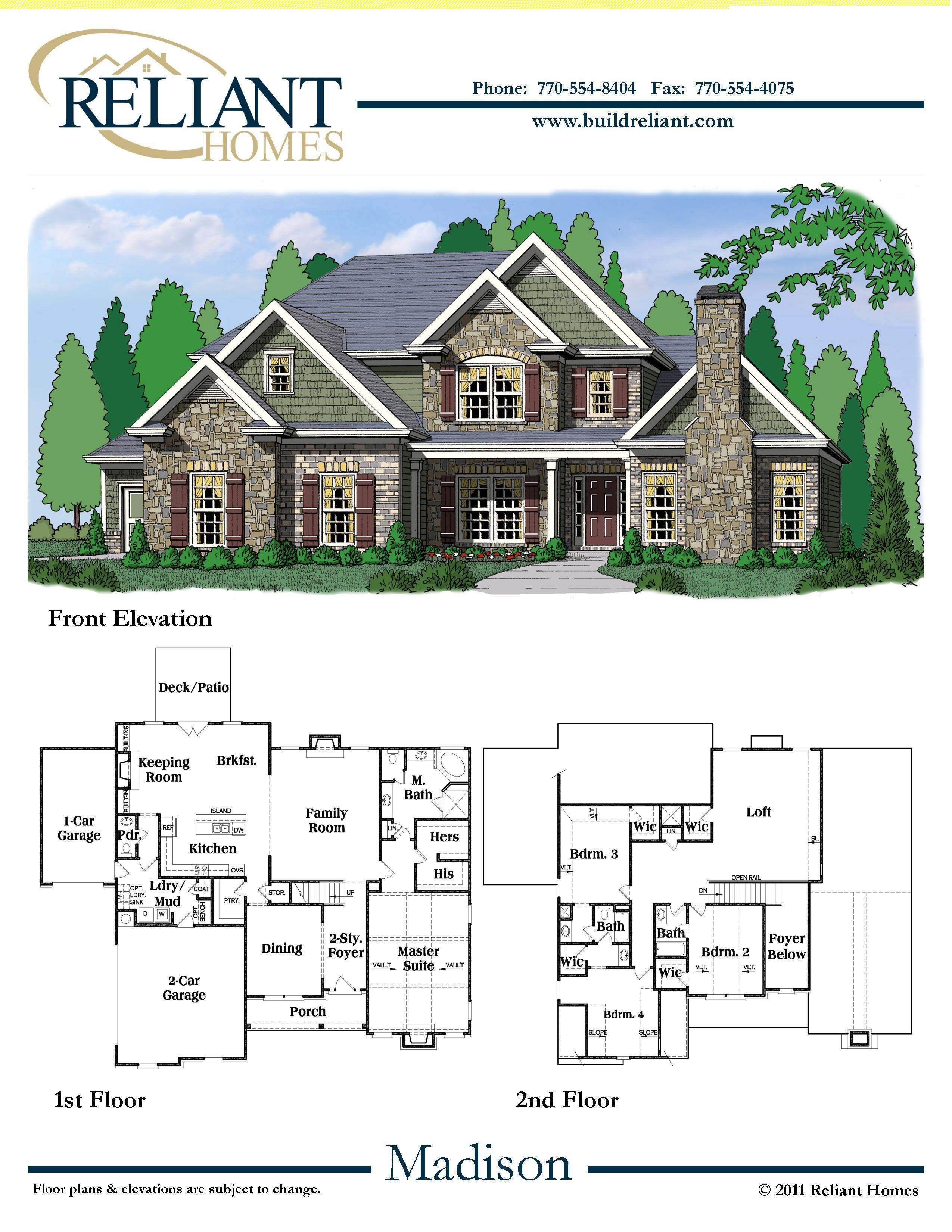 reliant homes the madison plan floor plans homes homes for reliant homes the madison plan floor plans homes homes for sale