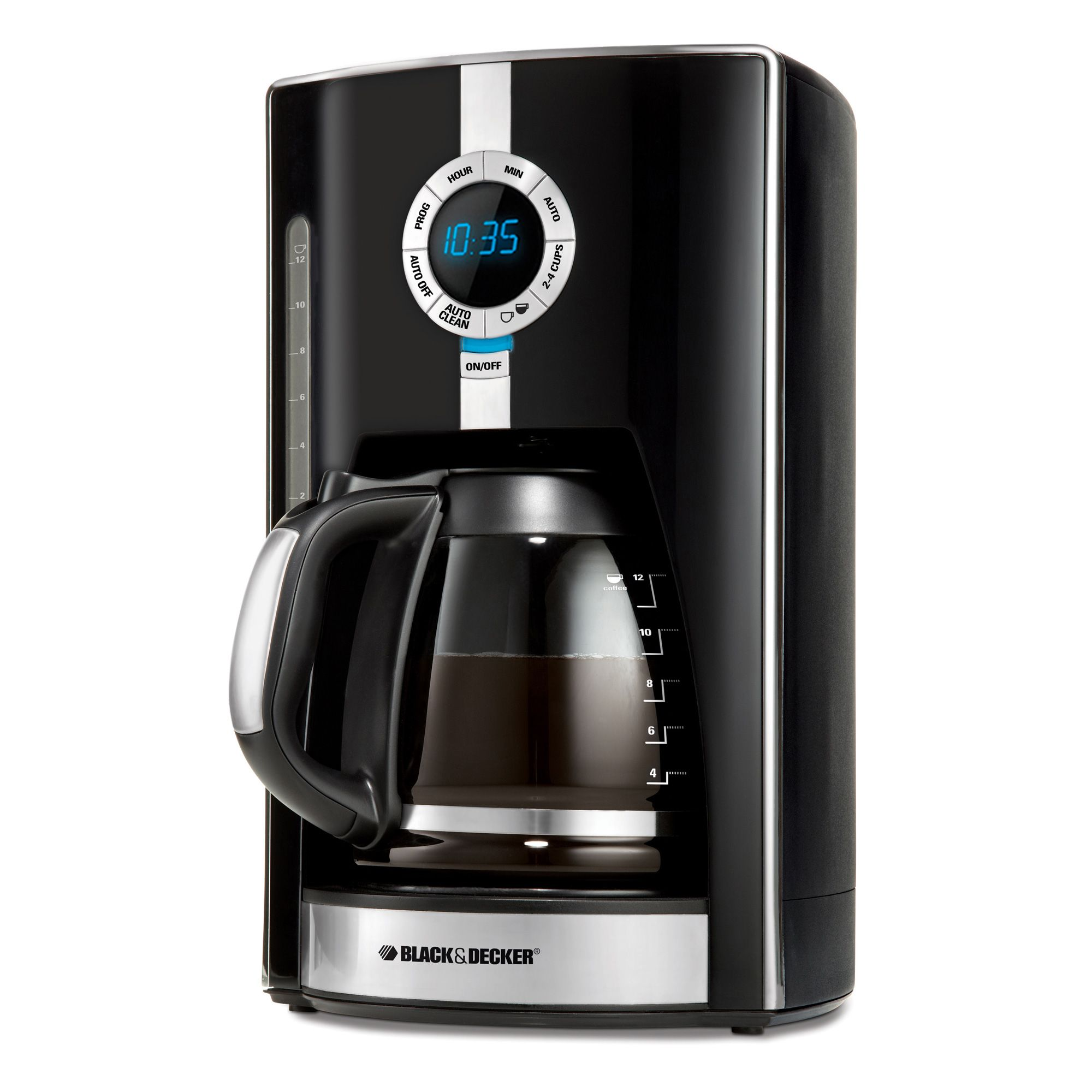 12cup programmable black and decker coffeemaker coffee