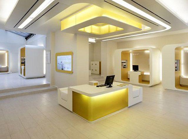 Modern Office Interior Lighting Design Commercial