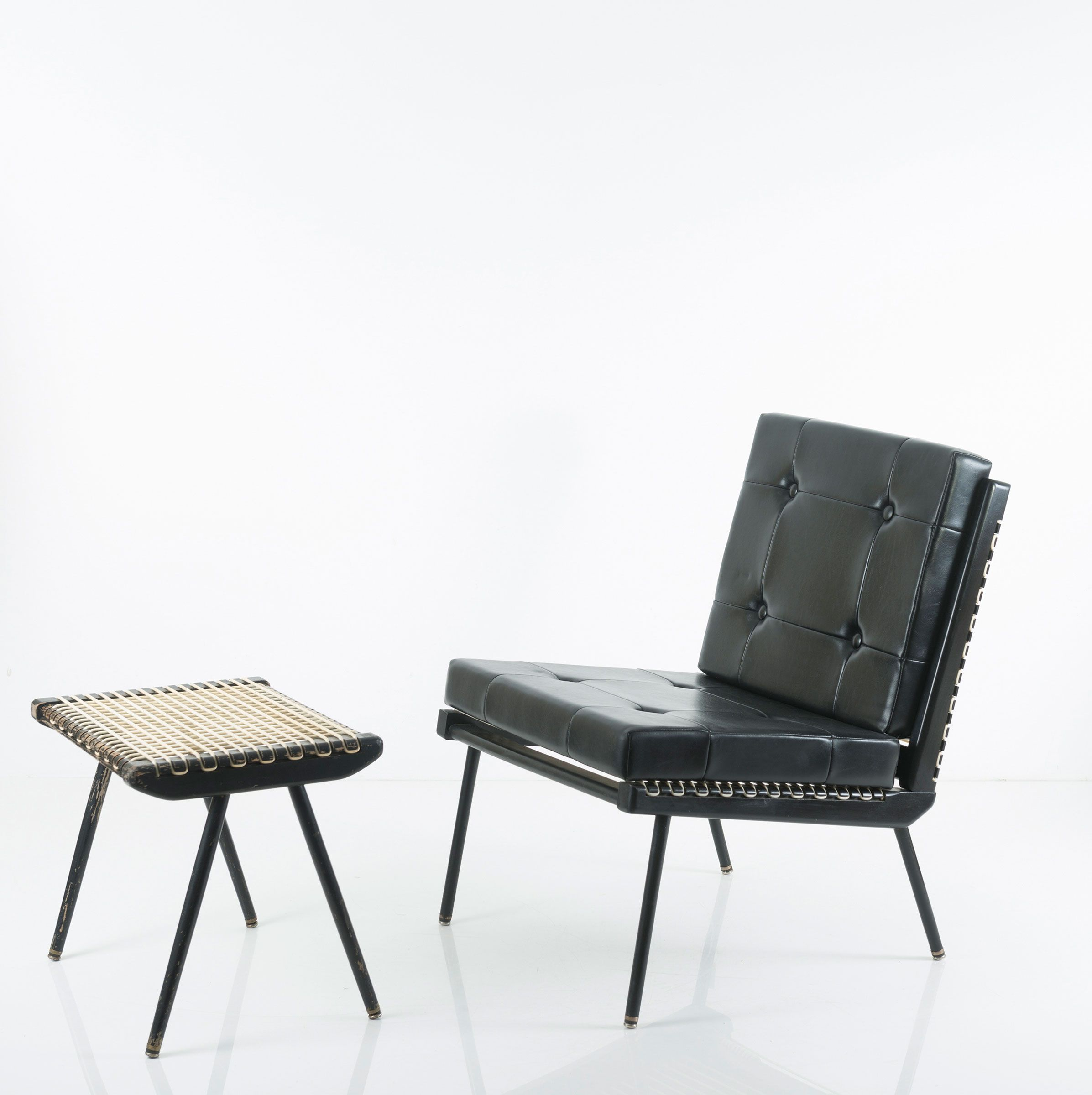 Scooby Doo Chair Where To Buy Chairs Georges Adrien Tigien And Footstool For Frankreich C1960