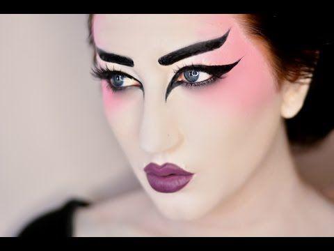 Halloween Makeup and Decoration Ideas | Geisha, Geisha makeup and ...