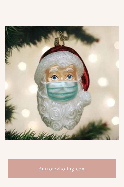 Santa In 2020 Ornament Pretty Christmas Decorations Grinch Christmas Decorations Christmas