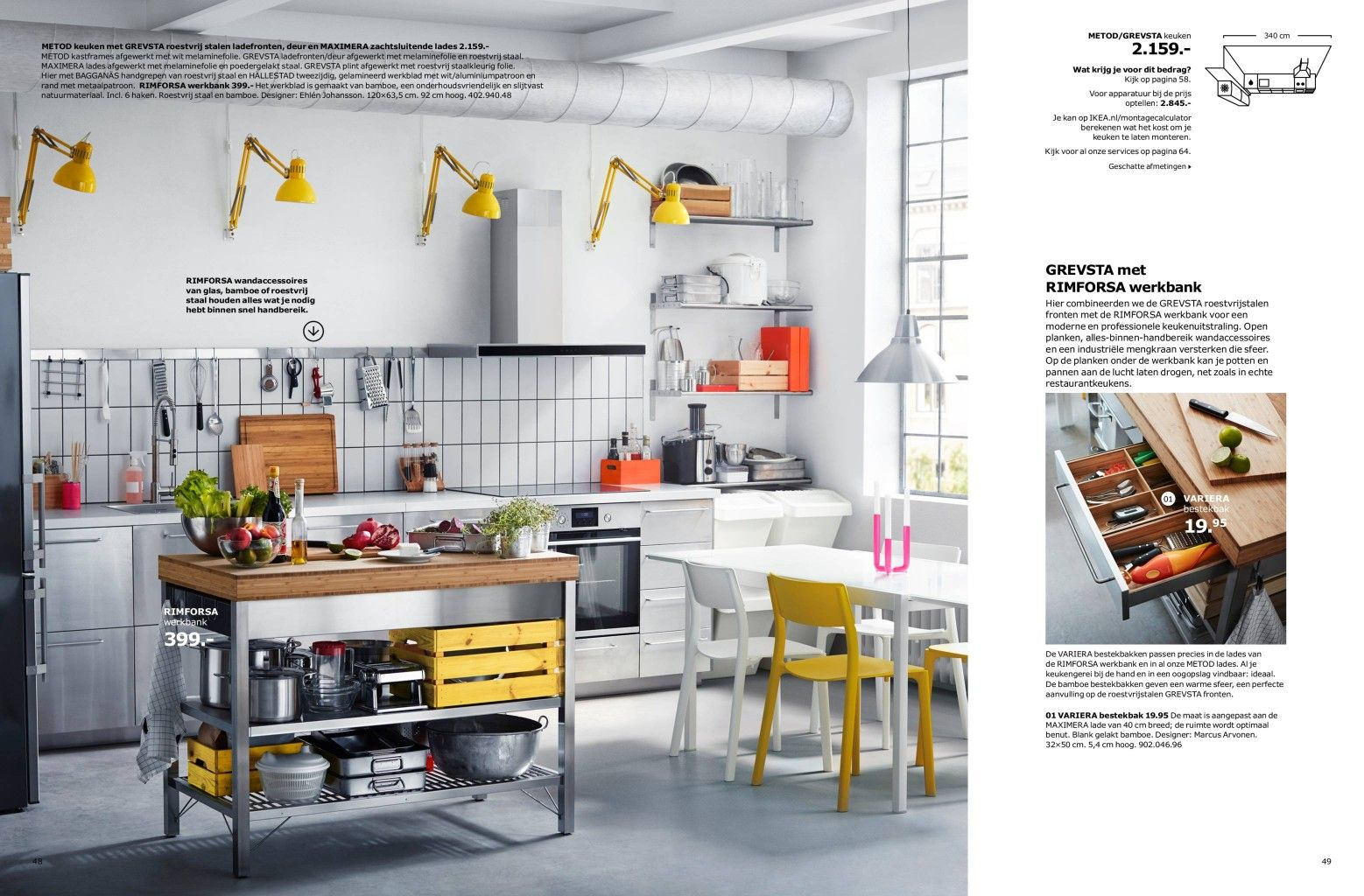 Ikea werkbank | keuken | Pinterest