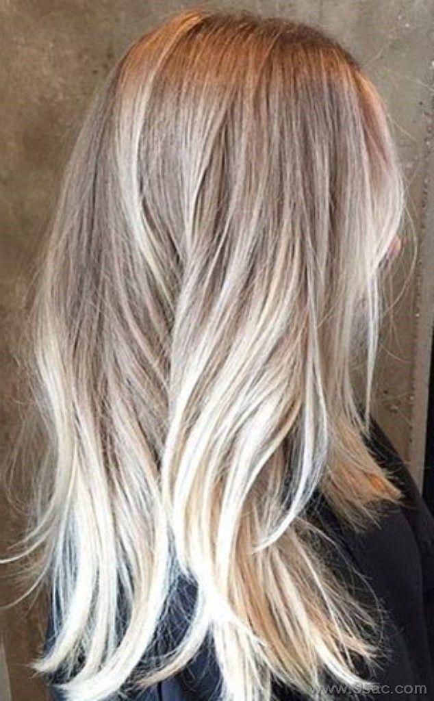 Platin Kullu Kristal Sac Rengi 2018 Sac Renkleri Uzun Sac