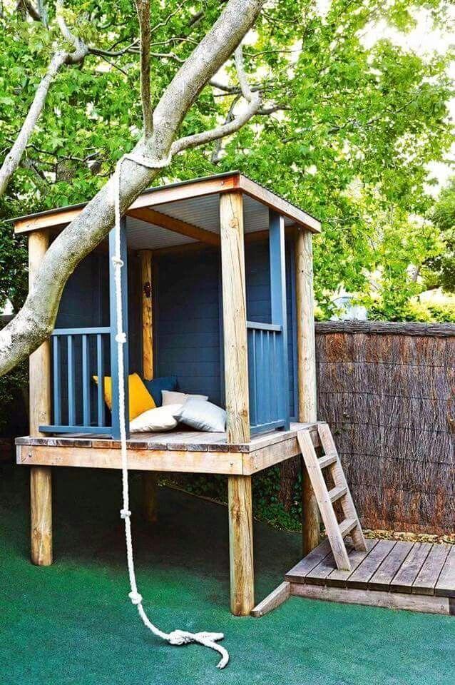 16 fabulous backyard playhouses sure to delight your kids easy rh za pinterest com