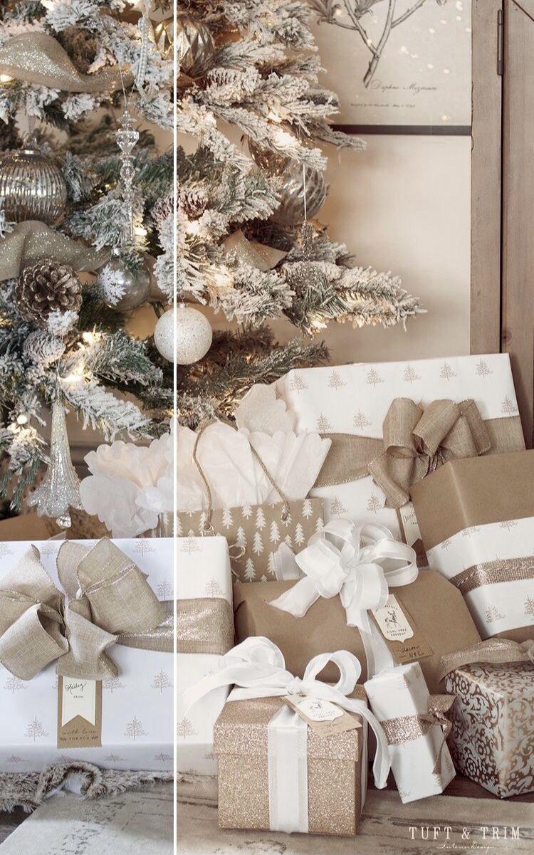 Golden Christmas Before & After / Lightroom Preset
