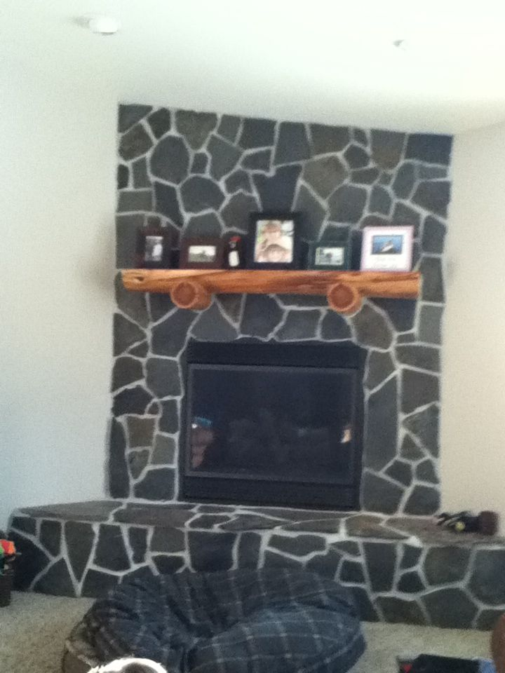 This is my fireplace
