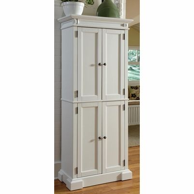 Best Home Styles Americana Pantry Cabinet In White 5004 692 400 x 300