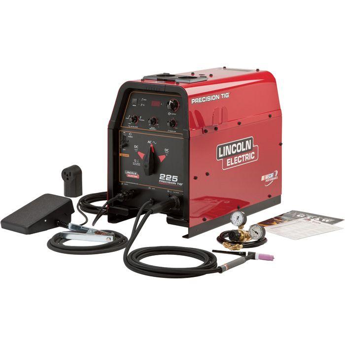 Lincoln Electric Precision Tig 225 Ac Dc Tig Welder Ready Pak 230v Model K2535 1 Tig Welder Welders Welding