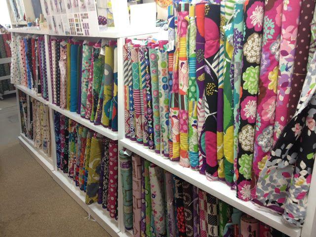 Fabric Shopping In Tokyo - Yuzawaya and Nippori - Blossom Heart Quilts