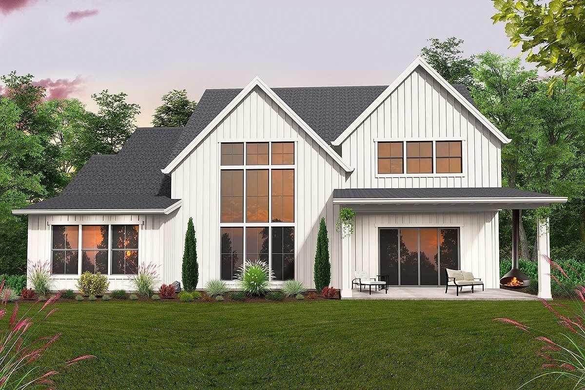 Plan 85269ms 4 Bed Exclusive Luxury Modern Farmhouse Plan