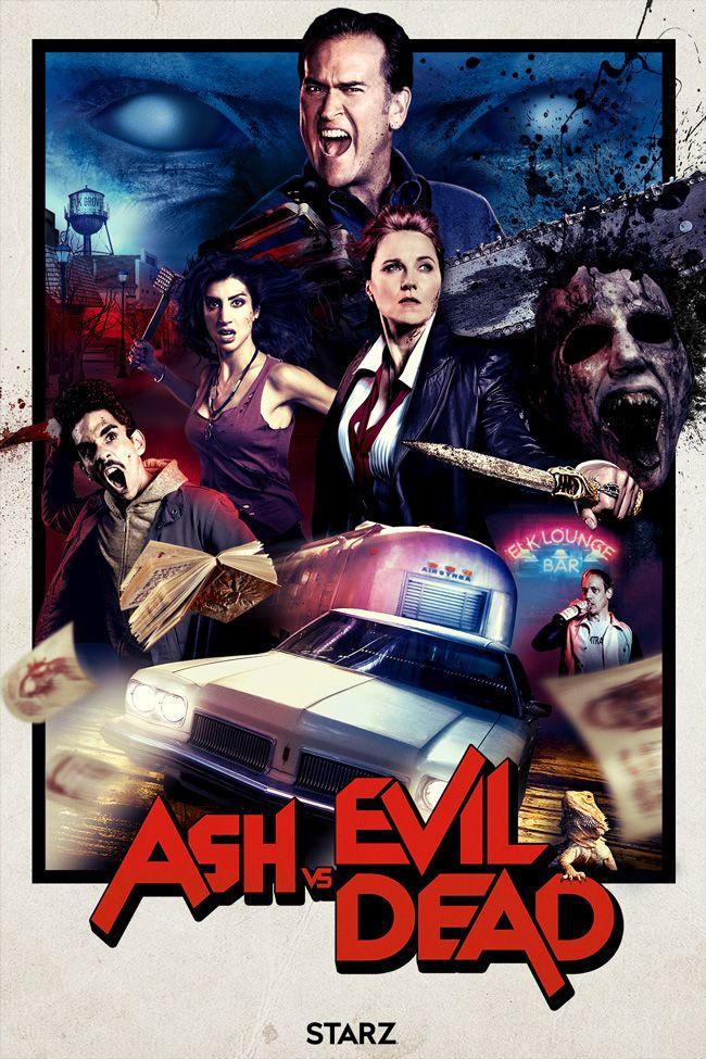 Noticias de cine y series: Ash vs Evil Dead: impresionante red band tráiler y póster de la segunda temporada