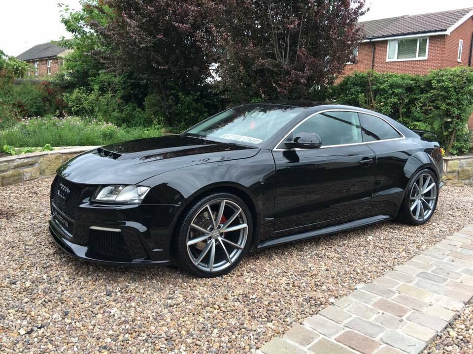 audi rs5 xclusive body kit for audi a5 coupe and. Black Bedroom Furniture Sets. Home Design Ideas