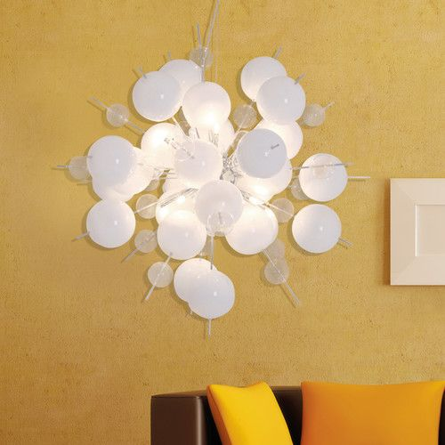 Found it at Wayfair.co.uk - 10 Light Cluster Pendant
