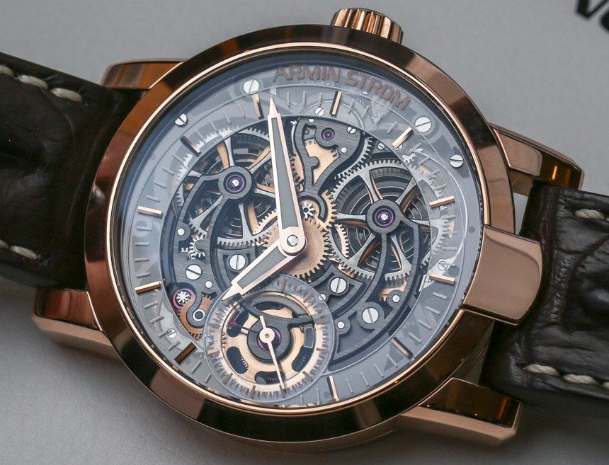 Armin Strom Skeleton Pure Water and Fire Watches Hands-On