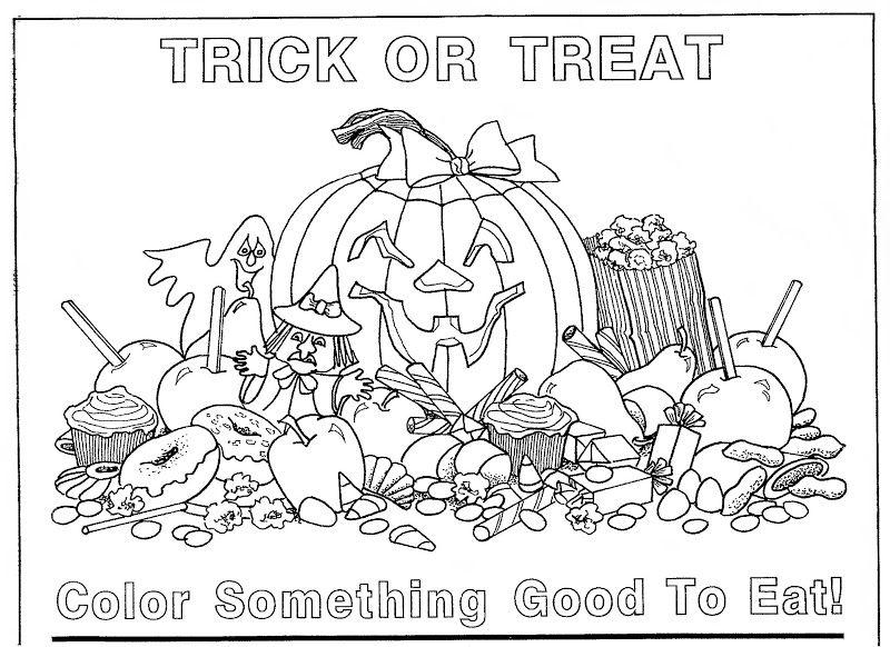 TRICK OR TREAT | PAPER TOYS PUZZLES COLOR GAMES | Pinterest | Paper ...