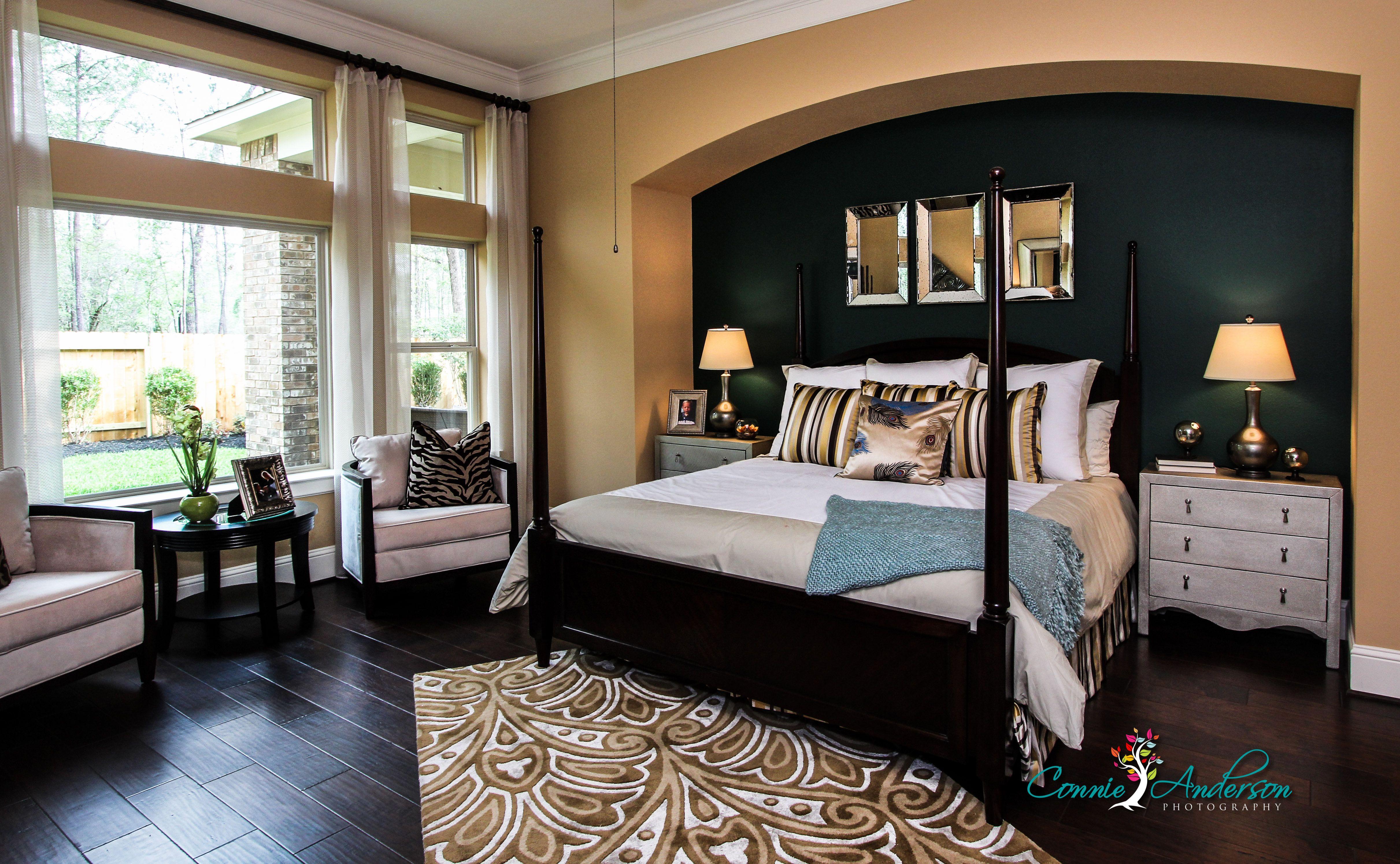David Weekley Homes   Model Home Master Bedroom   Auburn ... on New Model Bedroom Design  id=85969