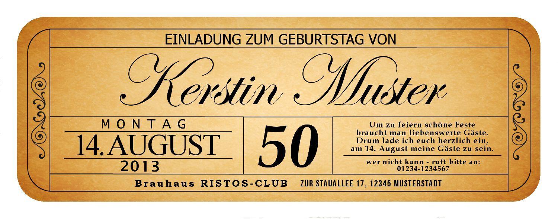Einladungskarten Bayerisch Selbst Gestalten Geburtstag Einladung