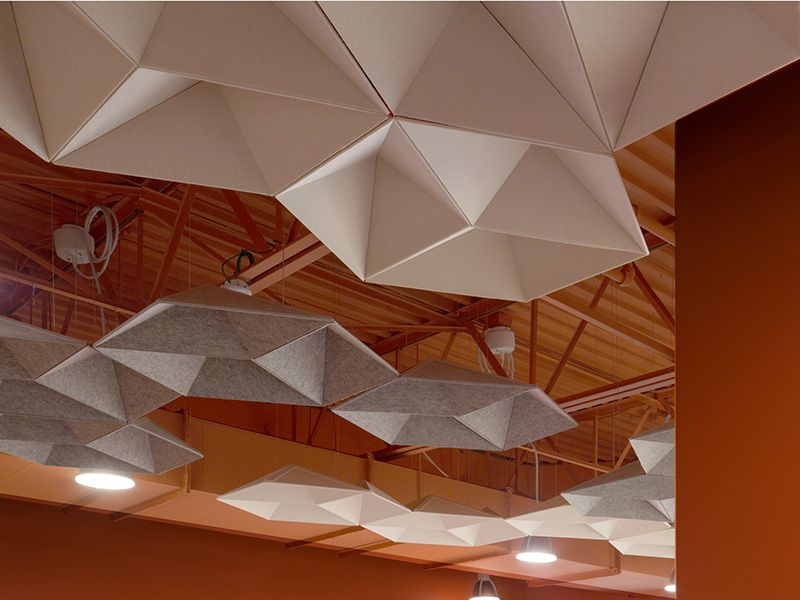 Echopanel Systems Kirei Usa Acoustic Ceiling Panels Acoustic Baffles Acoustic Panels