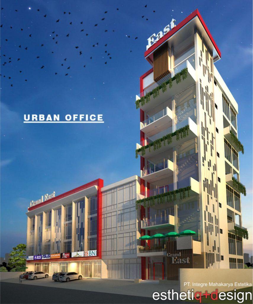 jasa desain interior urban office