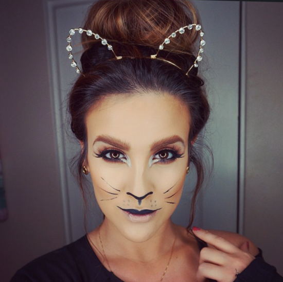tiger make up What Id Wear Pinterest Carnavales Maquillaje y