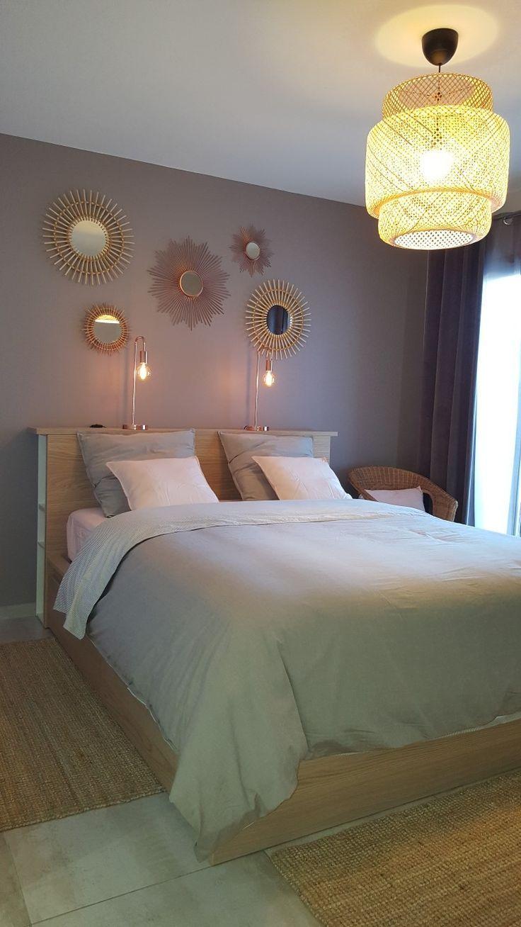 Ikea Lit Malm 160 Avec 4 Tiroirs Rangements Horda Et Plan De Travail Au Nive Decoracion De Casas Pequenas Decoraciones De Casa Dormitorios