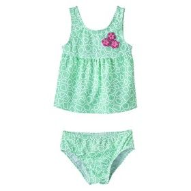 Just One You™ by Carter's® Infant Toddler Girls' 2-Piece Tankini Swimsuit Set $12.99