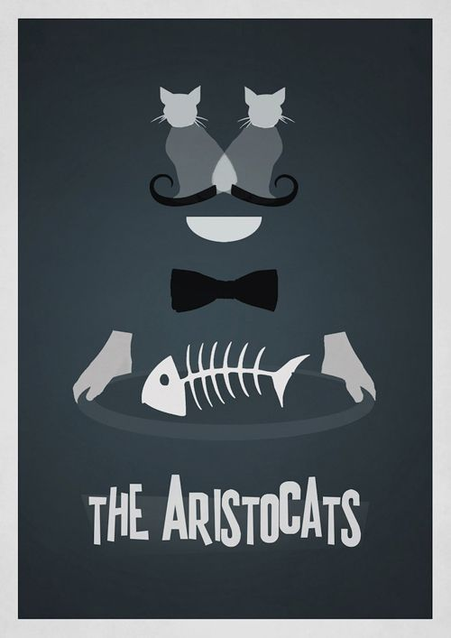 Disney revisit pinterest films de disney affiche for Affiche minimaliste