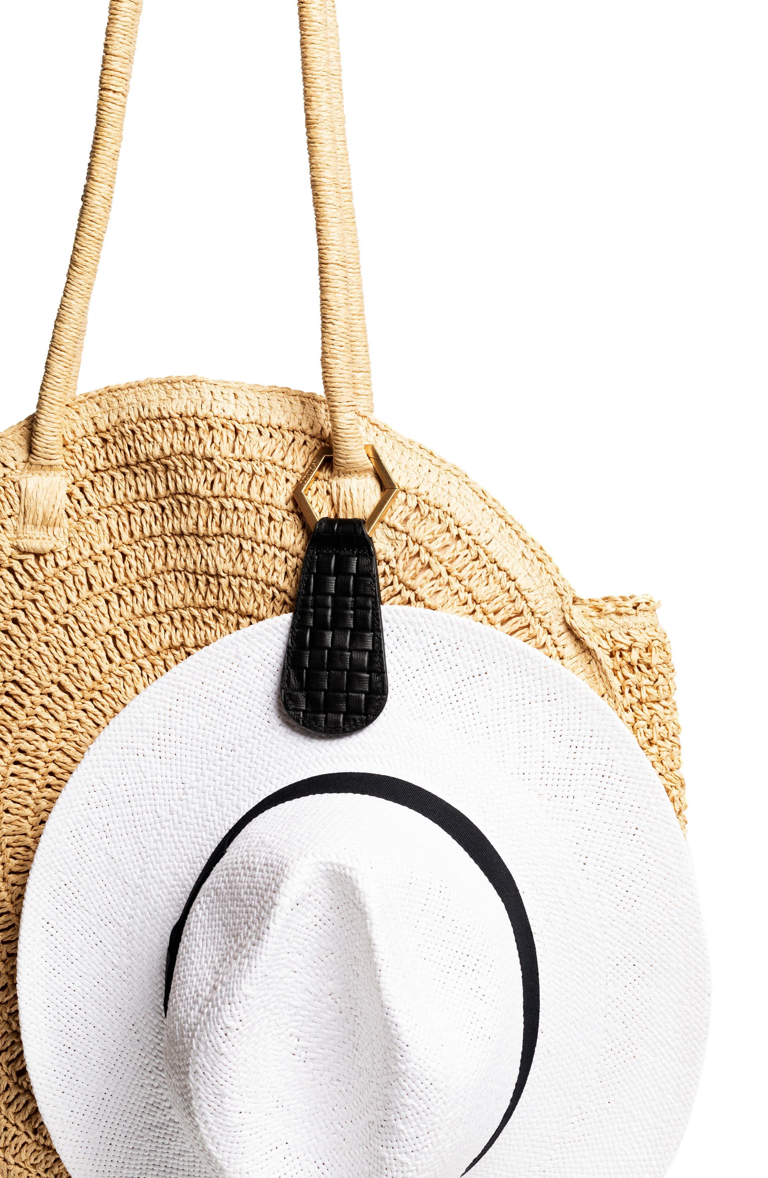 Toptote The Drop Leather Hat Holder Nordstrom In 2021 Leather Hats Modern Handbag Hat Holder