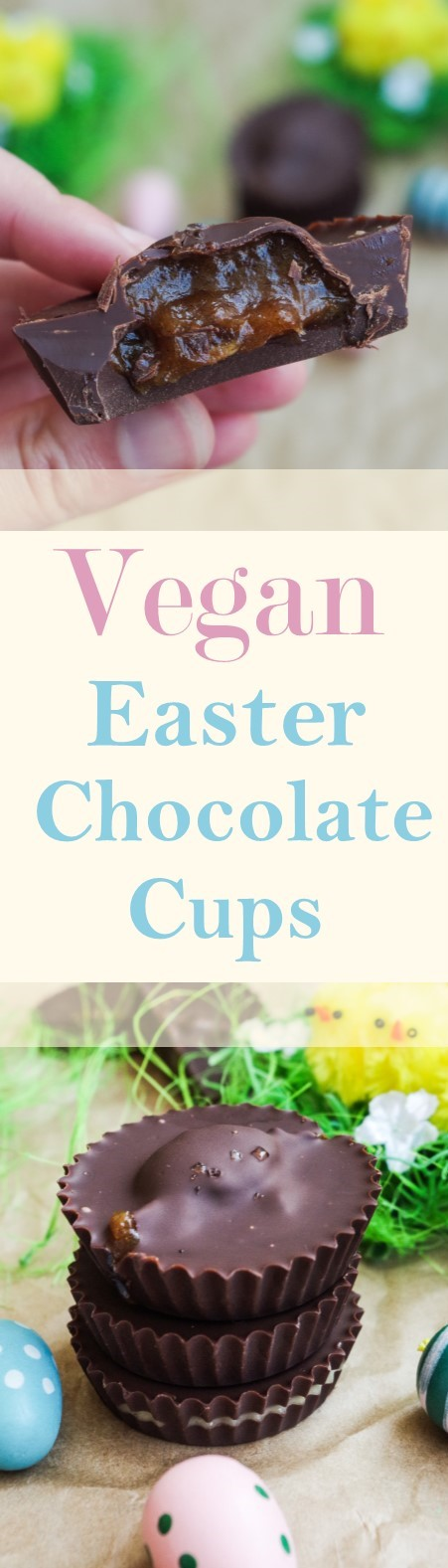 Vegan Easter Chocolate Cups |Euphoric Vegan