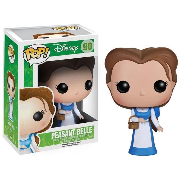 Figurine Funko Pop Disney La Belle Et La Bete Belle En Paysanne Figurine Vinyl Pop Disney Poupees Pop