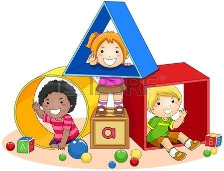 Children And Toy Blocks Preschool Designs Toy Blocks Preschool Clipart