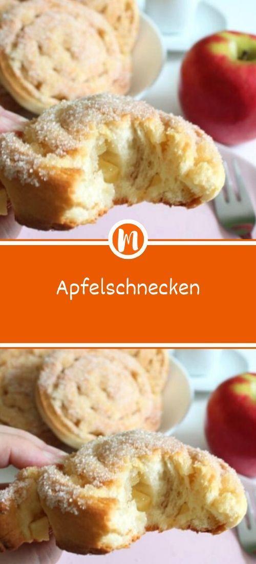 Apfel Schnecken #plätzchenrezept